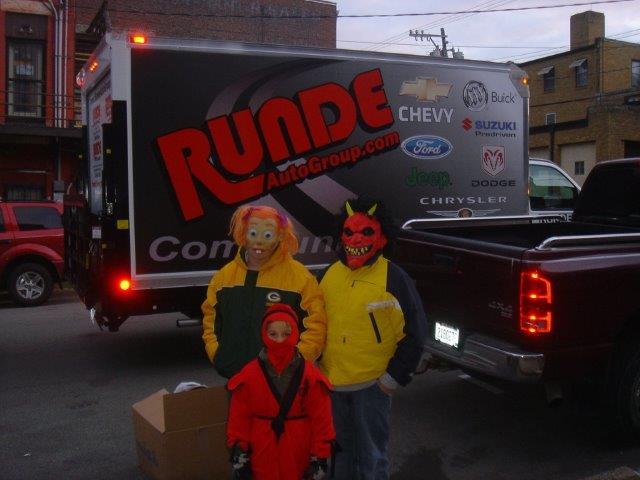 Runde's Community Service Truck
