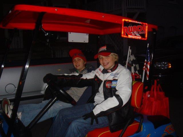 Runde's Signature Golf Cart