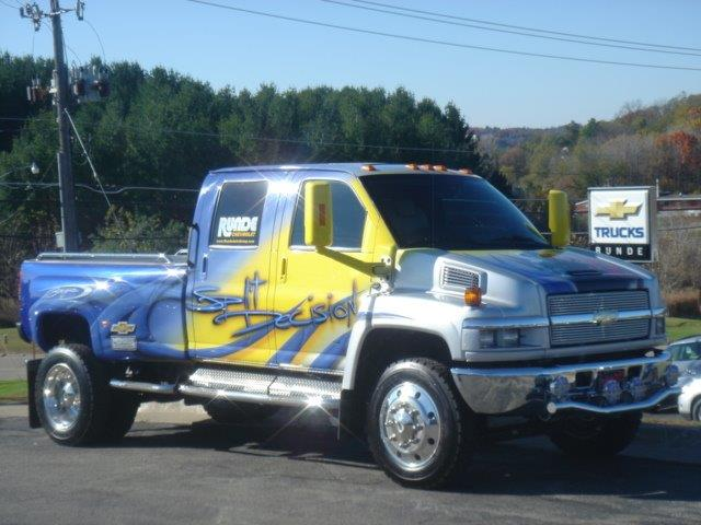 Split Decision Truck -- Stop by Runde Chevrolet in East Dubuque to see it anytime!