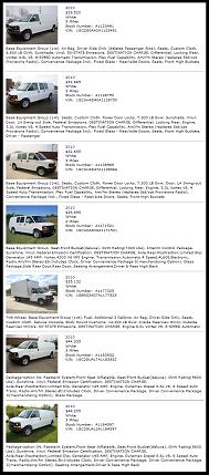 2010 left-over new Express van