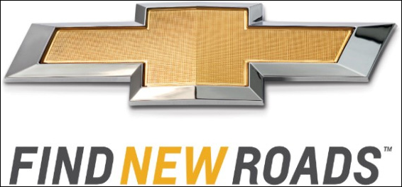 Slogan Change Chevy Runs Deep Becomes Find New Roads
