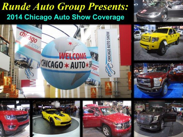 2014 chicago auto show coverage