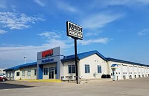 Runde PreDriven dealership main building in Hazel Green WI