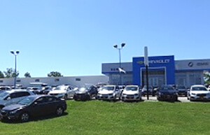 Runde Chevrolet Buick GMC Dealership Building in Platteville WI