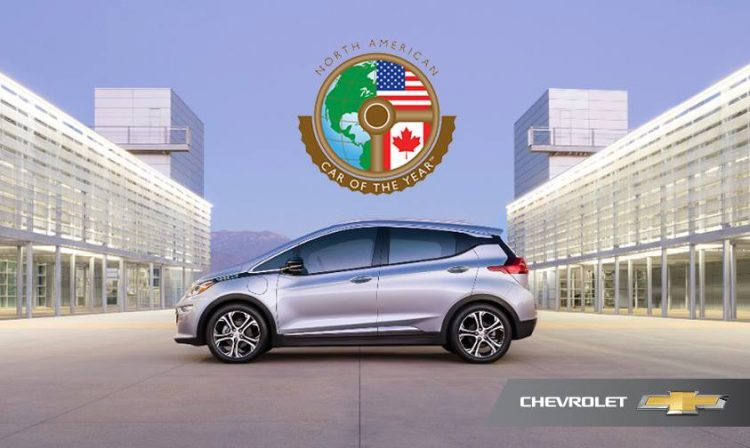 The 2017 Chevrolet Bolt Ev Is Picking Up Awards Left And Right