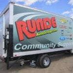 Runde Community Support truck