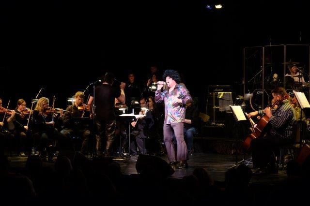 Dubuque Symphony rock concert photo