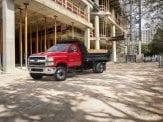 2019 Chevy Silverado dump truck