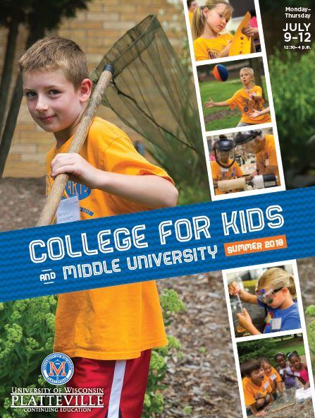 Registration Is Open For College For Kids At Uw Platteville