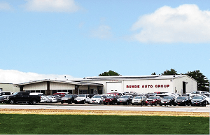 View of Runde Auto Group Dealership in Manchester Iowa