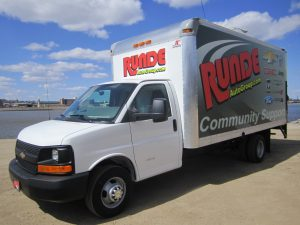 Runde Dealership Community Support Truck