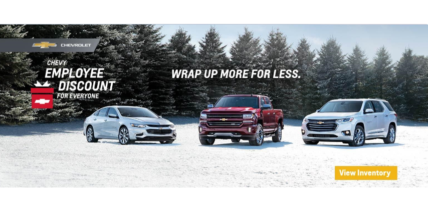 Chevrolet Employee Pricing Runde Auto Group