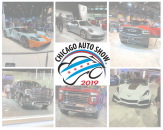 Chicago Auto Show website banner
