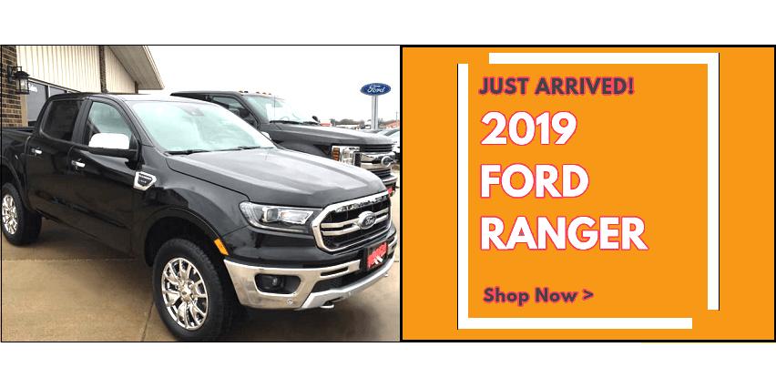 new 2019 Ford Ranger Manchester Iowa