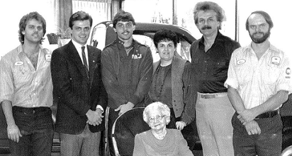 The Runde Family - owners of Runde Auto Group