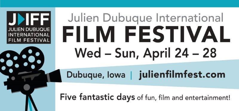 2019 Julien Dubuque Film Festival banner
