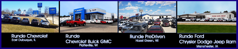 Runde Auto Group Four Locations