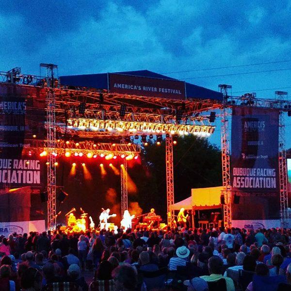 America's River Festival stage