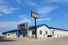 Runde Used Car Dealership Lot near Dubuque Iowa