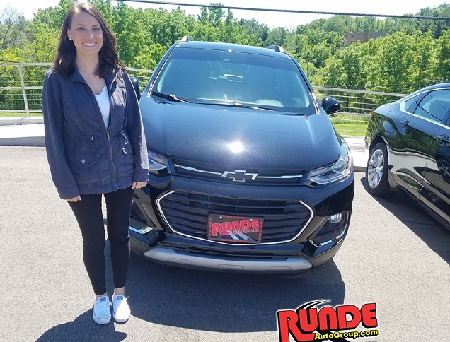 2018 Chevy Trax at Runde Chevrolet in East Dubuque